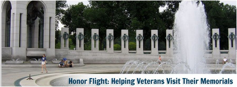 Honor Flight Austin honors our World War II Veterans